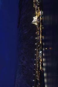 Evening Over Tromso Bridge in Norway Journal: 150 Page Lined Notebook/Diary
