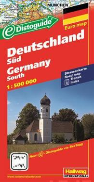 Hallwag International Deutschland Sud/Germany South