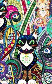 Cat Notebook: Presents / Gifts for Cat Lovers [ Ruled Softback Notebook / Small Journal - Carnival ]