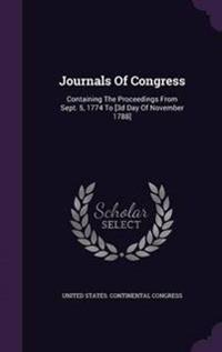 Journals of Congress