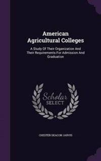 American Agricultural Colleges