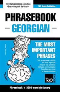 English-Georgian Phrasebook and 3000-Word Topical Vocabulary