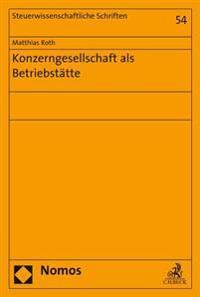 Konzerngesellschaft ALS Betriebstatte
