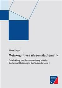 Metakognitives Wissen Mathematik