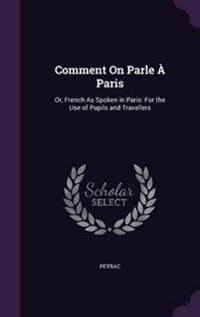 Comment on Parle a Paris