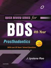 QRS for BDS 4th Year - Prosthodontics