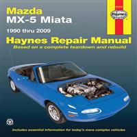 Haynes Mazda MX-5 Miata Automotive Repair Manual