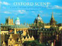 Oxford scene - a view of the university and city