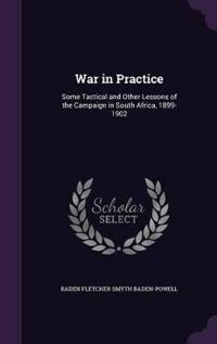 War in Practice