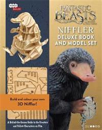 Incredibuilds - fantastic beasts - niffler - deluxe model and book set