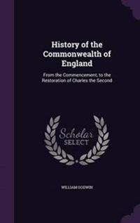 History of the Commonwealth of England