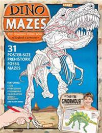 Dino Mazes the Colossal Fossil Book