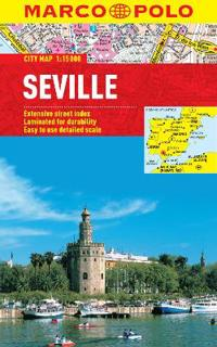Seville Marco Polo Laminated City Map