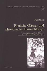 Poetische Gaertner Und Phaetonische Himmelsflieger: Formen Poetologischer Reflexion Im Niederen Roman Des 17. Jahrhunderts