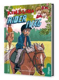 Kim och Lina rider iväg (BOK+CD)
