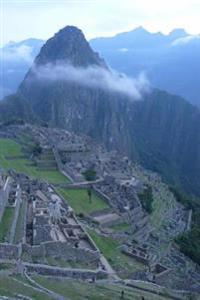 Machu Picchu Ancient Incan Citadel in the Clouds Journal: 150 Page Lined Notebook/Diary