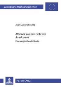 Allfinanz Aus Der Sicht Der Assekuranz: Eine Vergleichende Studie