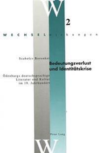 Bedeutungsverlust Und Identitaetskrise: Oedenburgs Deutschsprachige Literatur Und Kultur Im 19. Jahrhundert