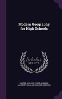Modern Geography for High Schools