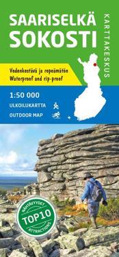 Saariselkä-Sokosti ulkoilukartta 1:50 000