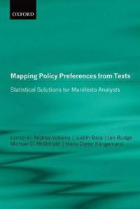 Mapping Policy Preferences from Texts