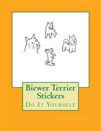 Biewer Terrier Stickers: Do It Yourself