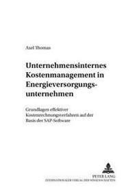 Unternehmensinternes Kostenmanagement in Energieversorgungsunternehmen: Grundlagen Effektiver Kostenrechnungsverfahren Auf Der Basis Der SAP-Software