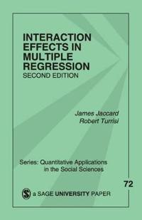 Interaction Effects in Multiple Regression