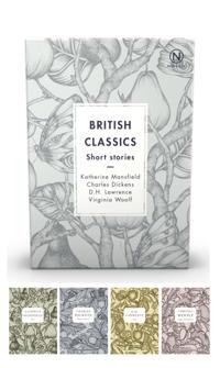 Box with four British classics