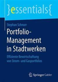 Portfolio-Management in Stadtwerken