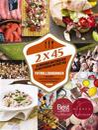 Fotbollskokboken - 2x45 : 45 magiska matcher och 45 matchande maträtter