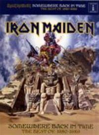 Iron maiden - somewhere back in time - the best of 1980-1989 (tab)