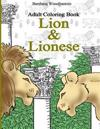 Adult Coloring Book, Lion & Lionese: Adult Coloring Book