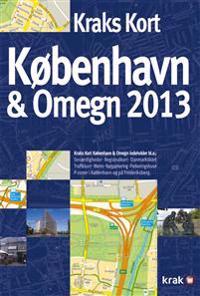 Kraks Kort København & Omegn 2013