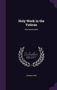 Holy Week in the Vatican