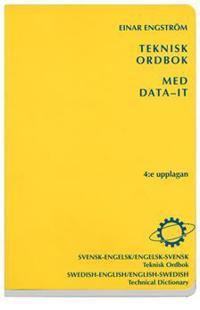 Teknisk ordbok med data-IT : Svensk-engelsk/Engelsk-svensk