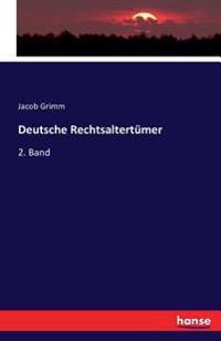 Deutsche Rechtsaltertumer