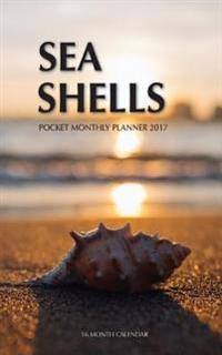 Sea Shells Pocket Monthly Planner 2017: 16 Month Calendar