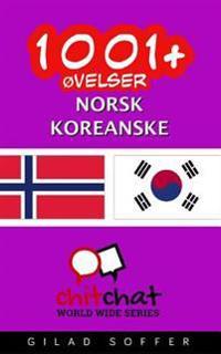 1001+ Ovelser Norsk - Koreanske