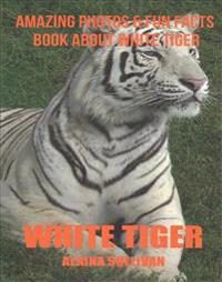 vit Tiger  Amazing Photos & Fun Facts Book about vit Tiger - Alaina Sullivan - böcker (9781537358680)     Bokhandel