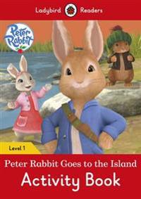 Peter rabbit: goes to the island activity book - ladybird readers level 1