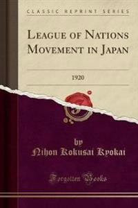 League of Nations Movement in Japan