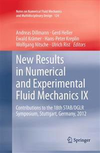 New Results in Numerical and Experimental Fluid Mechanics 9