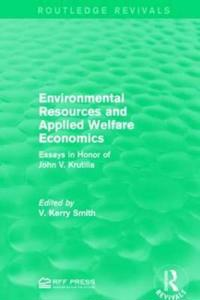 Environmental Resources and Applied Welfare Economics