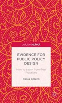 Evidence for Public Policy Design