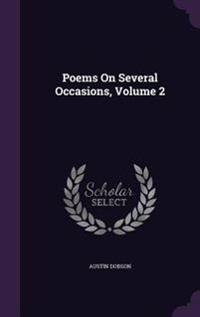 Poems on Several Occasions Volume 2