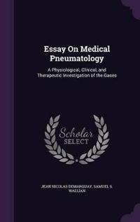 Essay on Medical Pneumatology
