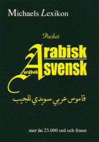 Arabisk-svensk ordbok Pocket 23.000 ord