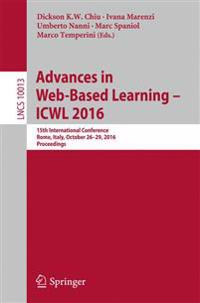 Advances in Web-Based Learning - ICWL 2016