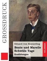 Beate Und Mareile / Schwule Tage (Grossdruck): Erzahlungen